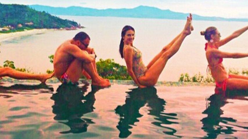 Alessandra Ambrosio startet 2015 mit viel Liebe