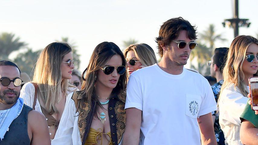 Alessandra Ambrosio und Nicolo Oddi beim Coachella 2019