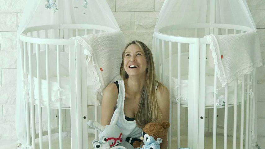 Endlich mal kein Shitstorm: Hier schlafen Alessandras Twins