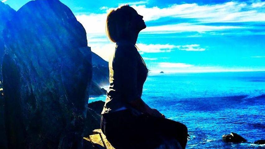 Nach Funkstille: Alessandra Meyer-Wölden relaxt