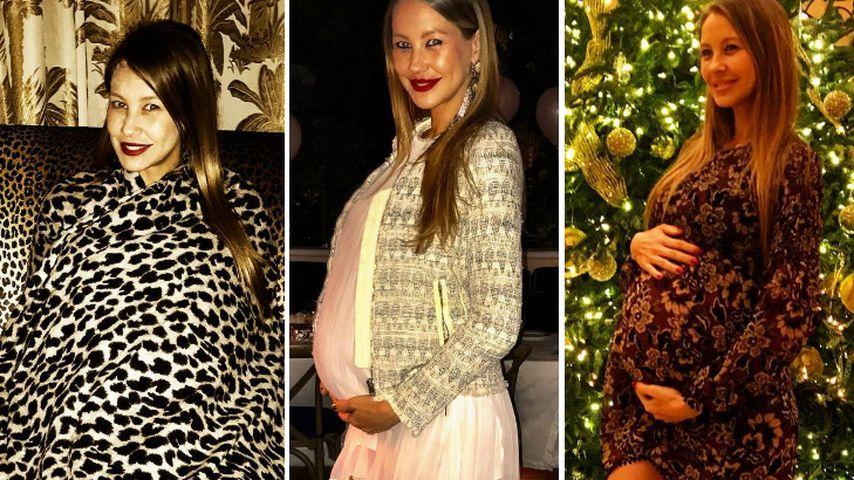 Alessandra Meyer-Wölden mit ihren tollen Babybauch-Stylings