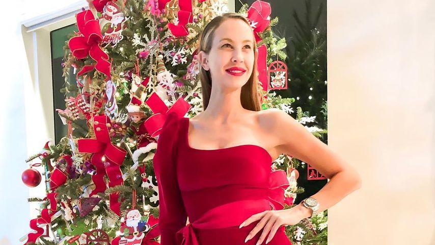 Alessandra Meyer-Wölden an Weihnachten 2018