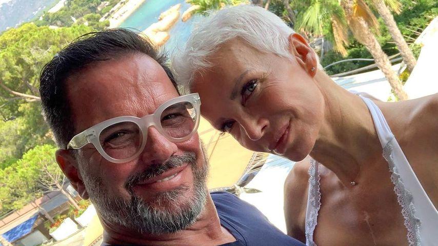 Alex Jolig und seine Frau Britt im September 2020