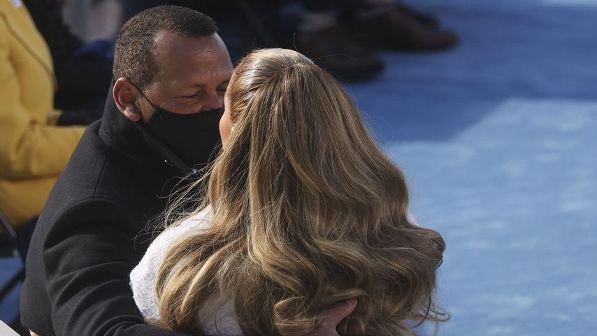 Alex Rodriguez und Jennifer Lopez bei der Vereidigungszeremonie von US-Präsident Joe Biden