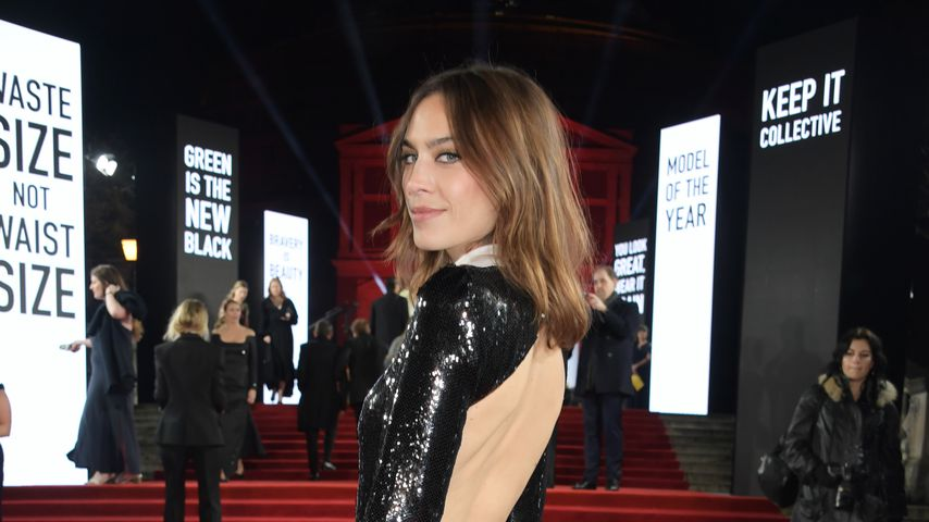 Alexa Chung bei den British Fashion Awards in London