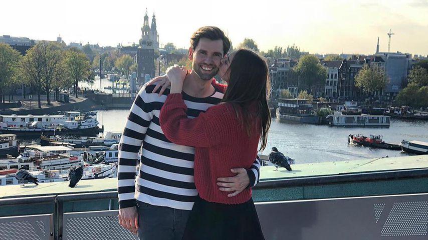 Alexander Keen und seine Partnerin in Amsterdam, Oktober 2018