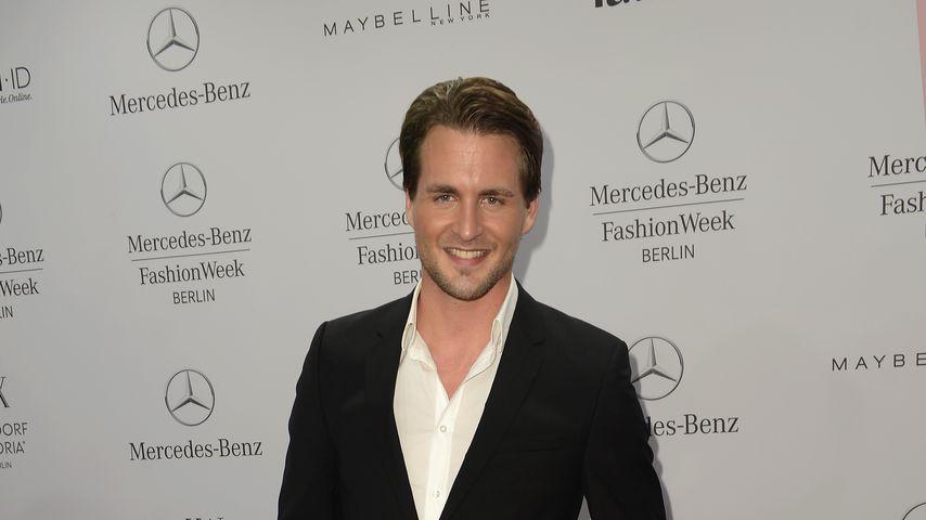Alexander Klaws auf der Fashion Week in Berlin