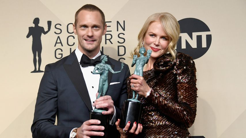 Alexander Skarsgard und Nicole Kidman bei Annual Screen Actors Guild Awards 2018