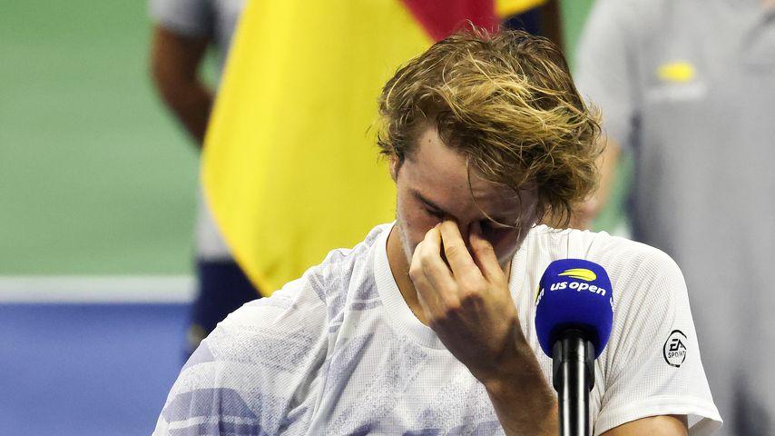 Bittere Tränen im Finale: Alex Zverev verpasst US-Open-Sieg