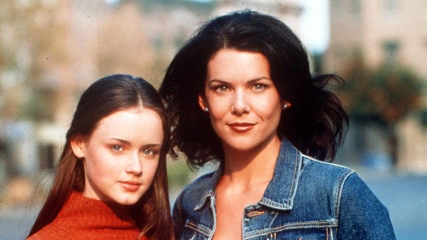 "Alexis Bledel und Lauren Graham in ""Gilmore Girls"" 2000"