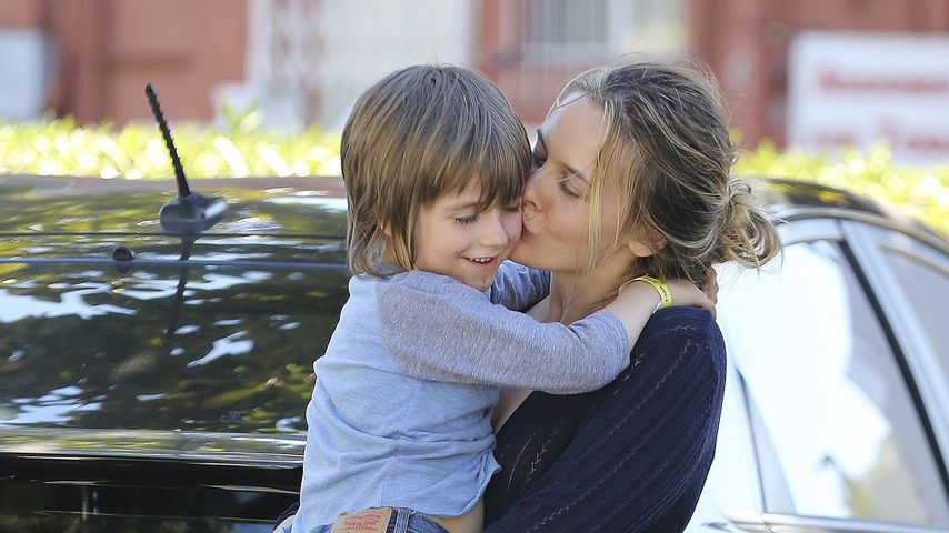 Alicia Silverstone mit ihrem Sohn Bear