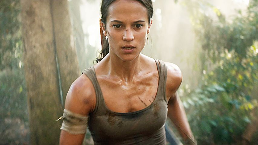 "Alicia Vikander als Lara Croft in ""Tomb Raider"""