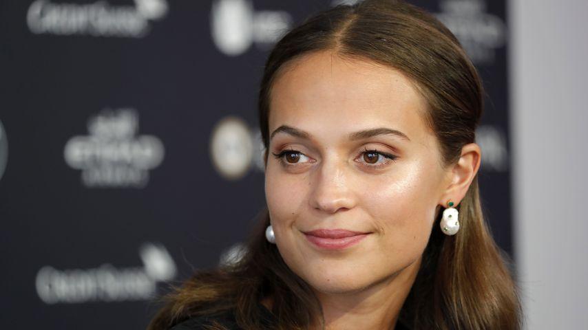 """Alicia Vikander bei einem Pressetermin für """"Euphoria"""" in Zürich, Schweiz"""