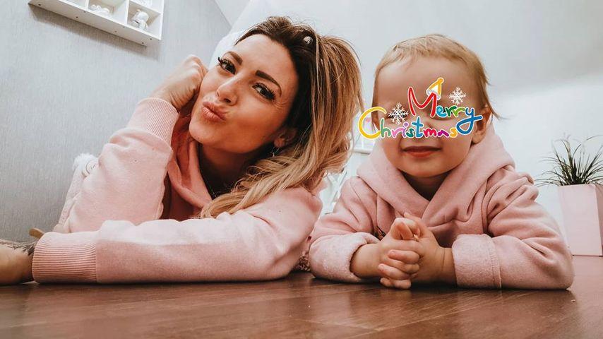 """""""Krass Schule""""-Star Aline Jost-Di Raimondo mit ihrer Tochter"""