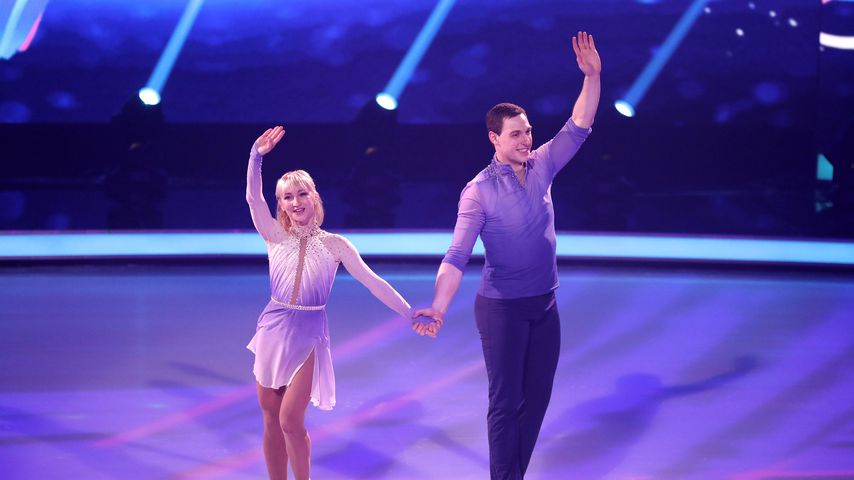 "Aljona Savchenko und Bruno Massot im ""Dancing on Ice""-Halbfinale 2019"