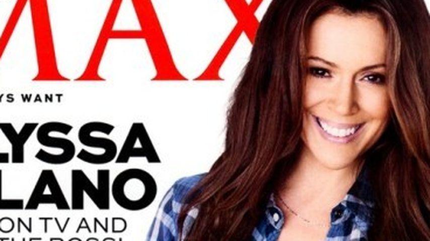 Alyssa Milano: Megaheißes Covergirl mit 40 Jahren!