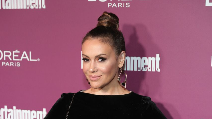 Alyssa Milano bei der Entertainment Weekly Pre-Emmy Party