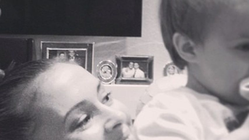 Alyssa Milano schwärmt von ihrem kleinen Sohn Milo