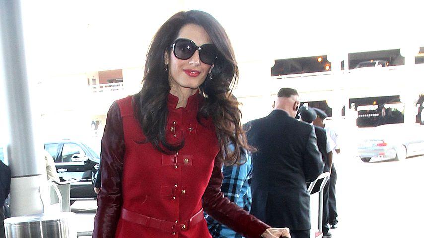 Stress mit Clooney? Amal setzt ihr Pokerface auf!