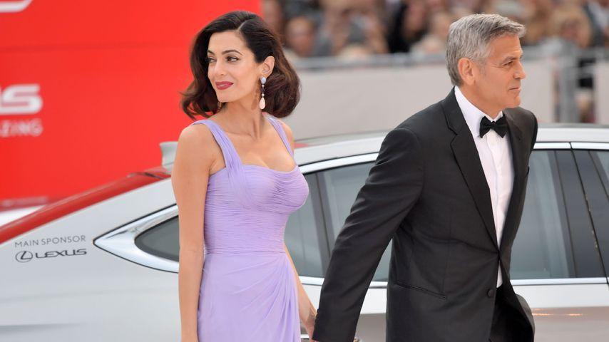 Amal und George Clooney beim Film Festival in Venedig
