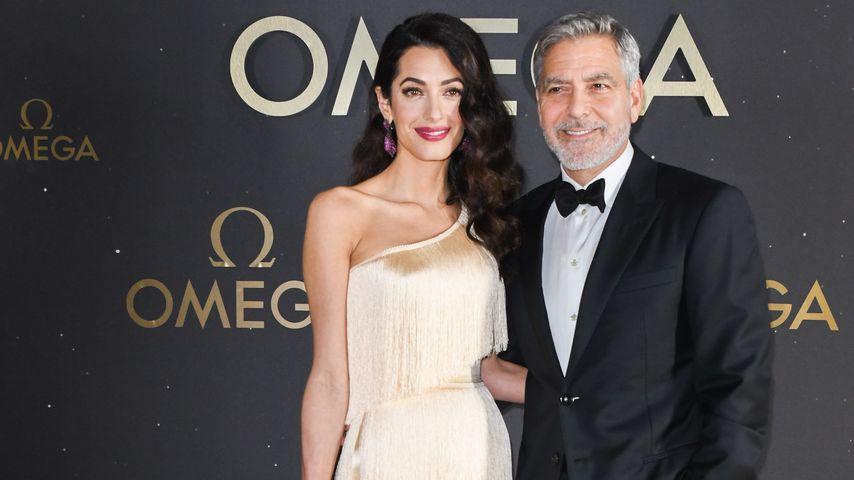 Amal und George Clooney beim Moon Landing Event, 2019
