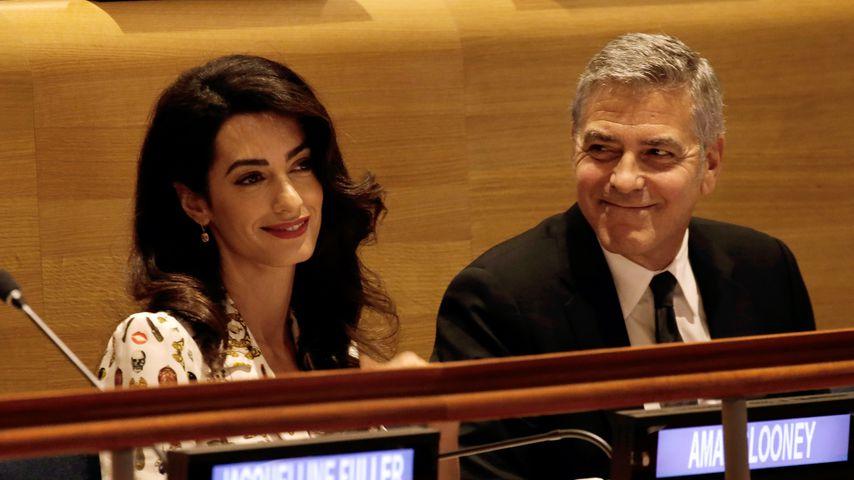 Fürs erste Date: So trickste George Clooney seine Amal aus!