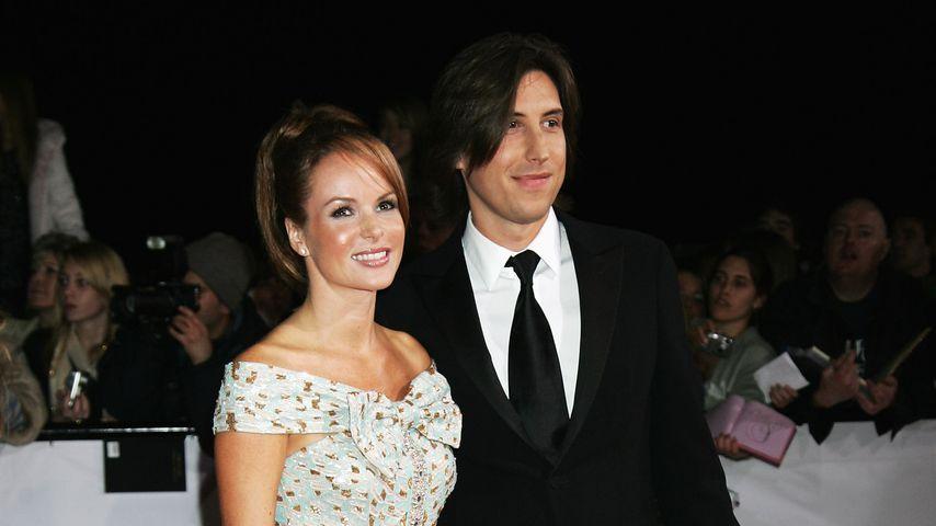 Amanda Holden und Chris Hughes im Oktober 2007