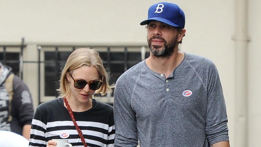 Amanda Seyfried und ihr Verlobter Thomas Sadoski in Hollywood