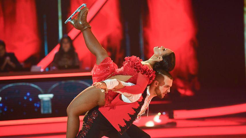 """Amani Fancy und Eric Stehfest bei """"Dancing on Ice"""""""