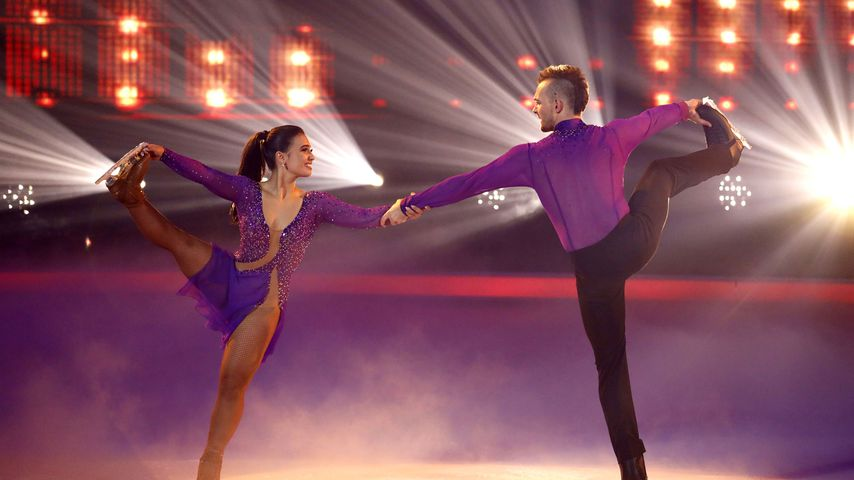 "Amani Fancy und Eric Stehfest bei ""Dancing on Ice"""