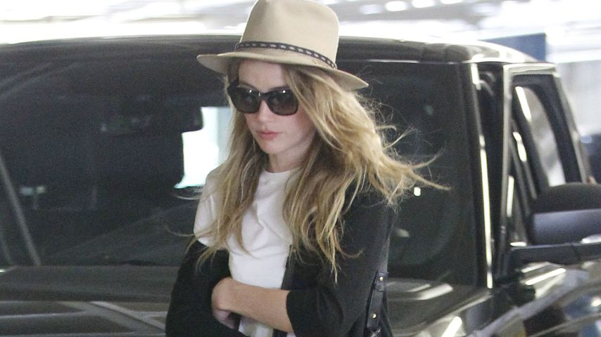 Amber Heard in West Hollywood