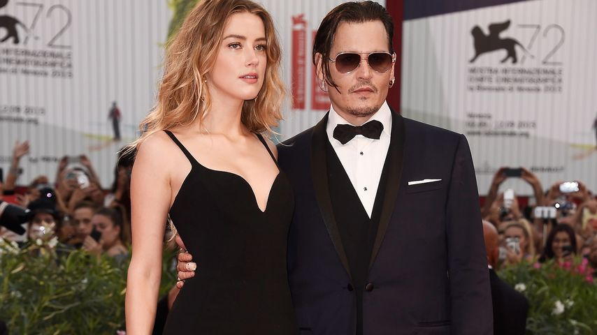 Johnny Depp & Amber Heard: Das coolste Paar in Venedig!