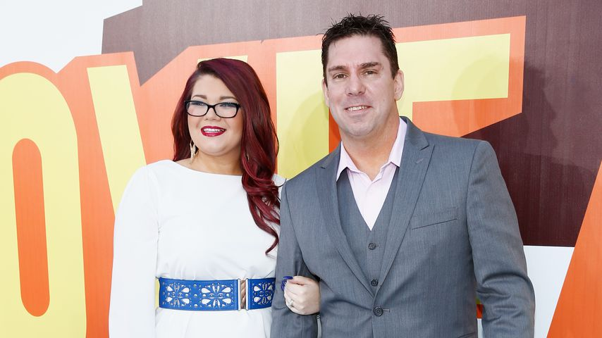 Amber Portwood und Matt Baier bei den MTV Movie Awards 2015