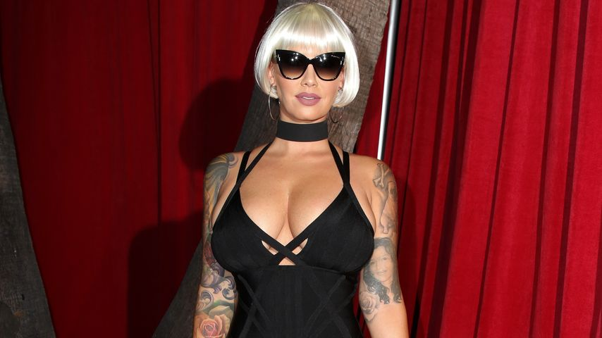 Model Amber Rose auf der MAXIM Hot 100 Party