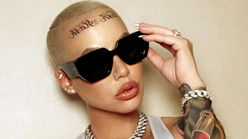 Nach Amber Rose: Auch ihr Freund Alexander hat Stirn-Tattoo