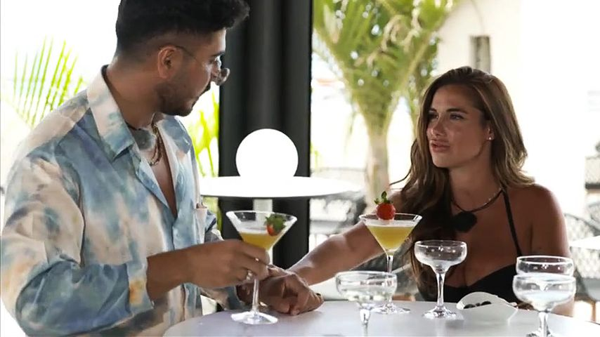 """Amir und Maria Bell bei """"Mein Date, mein bester Freund & ich"""""""