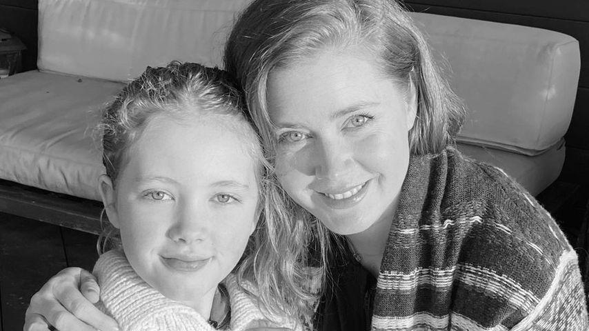 Total selten: Amy Adams zeigt sich mit ihrer Tochter (11)