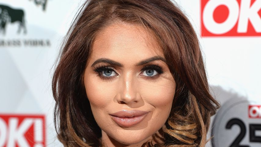 Amy Childs in London 2018