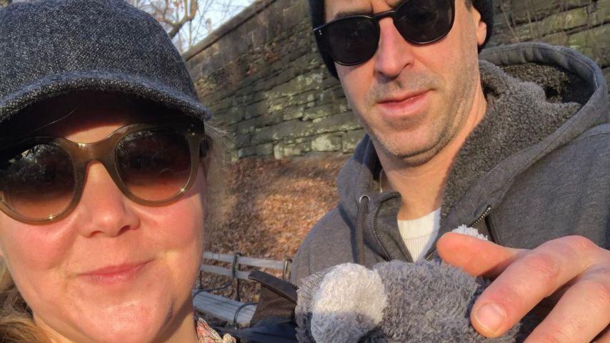 Amy Schumer, Chris Fischer und ihr Sohn Gene im Dezember 2019