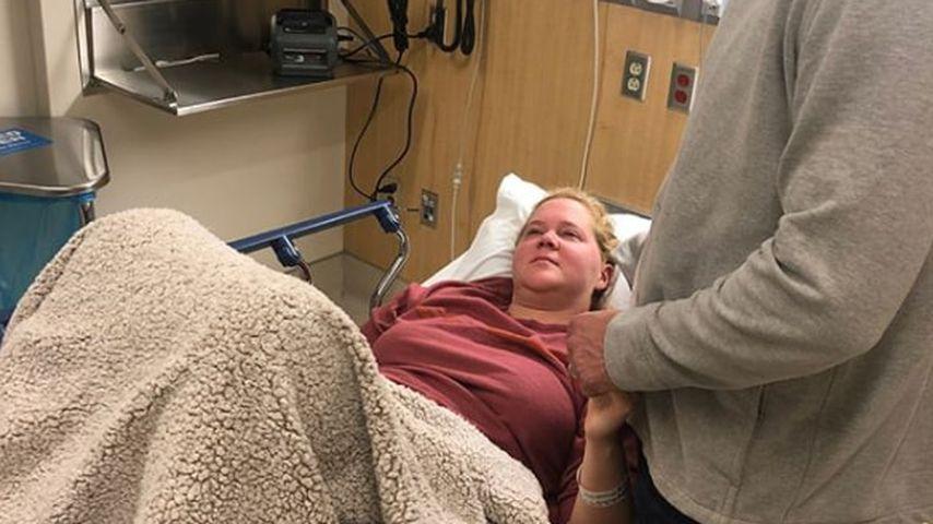 Amy Schumer im Krankenhaus