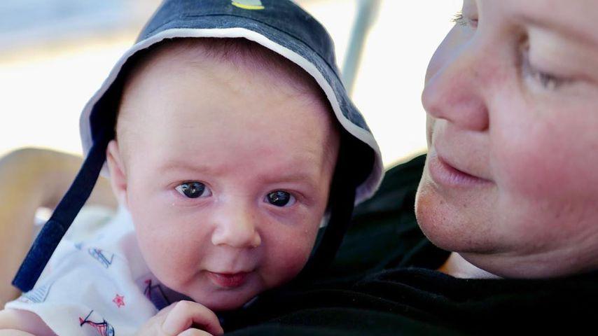Amy Schumer mit ihrem Sohn Gene