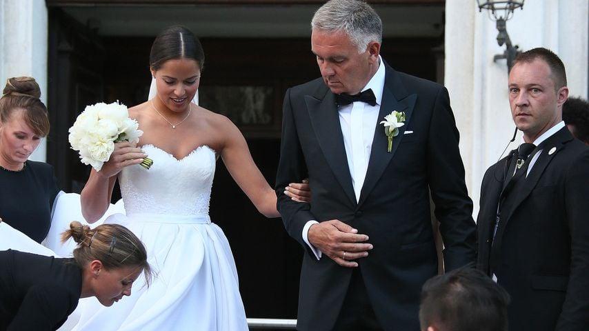 Hier kommt die Braut: So happy sind Schweini & Ana Ivanovic