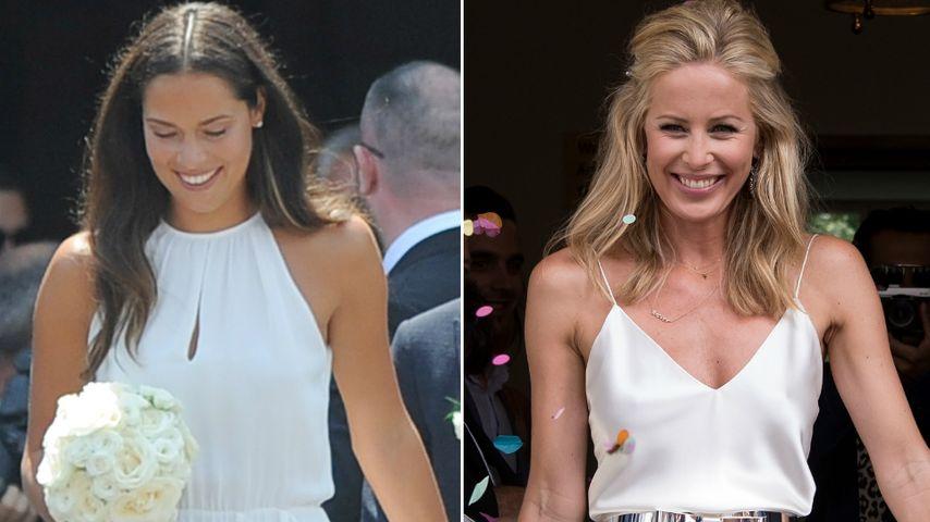 Ana Ivanovic & Carina Wanzung: IHR Kleid gefiel euch besser!