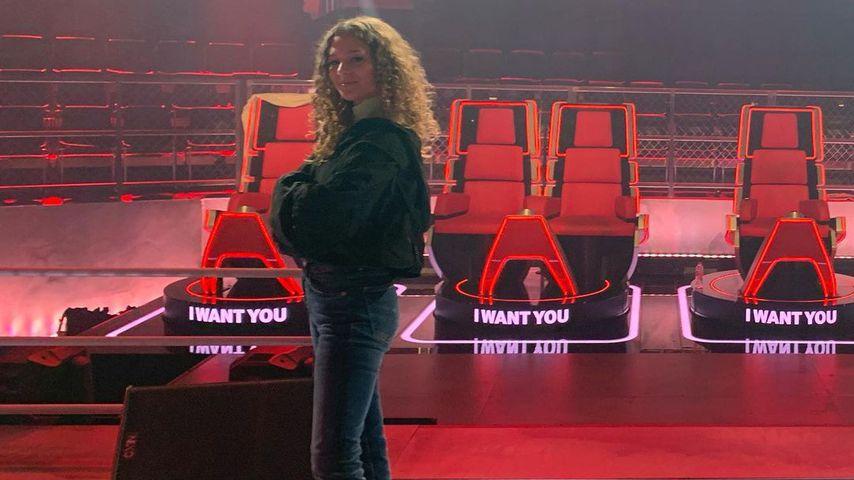 "Anastasia Blevins im ""The Voice of Germany""-Studio"