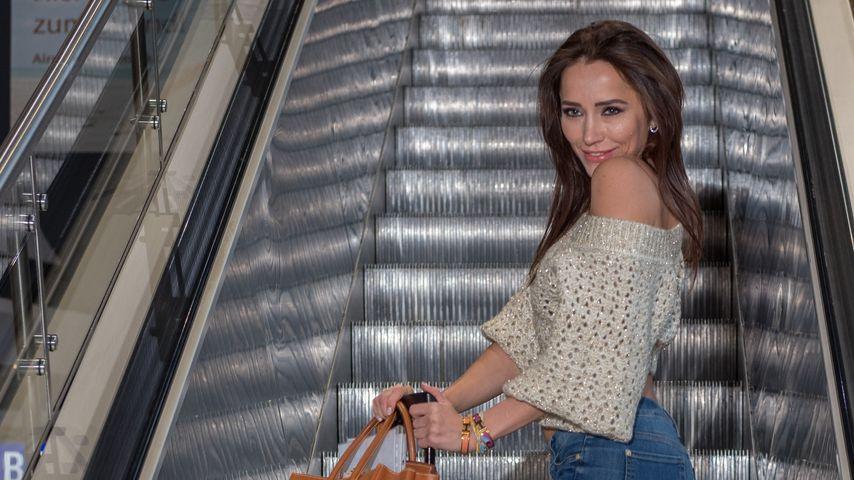 Anastasiya Avilova vor ihrem Flug nach Australien im Januar 2019