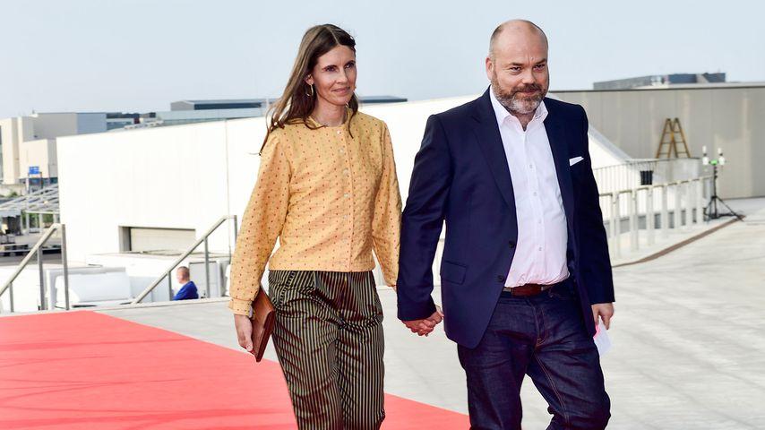 Anders Holch Povlsen und seine Frau Anne im Mai 2018 in Kopenhagen