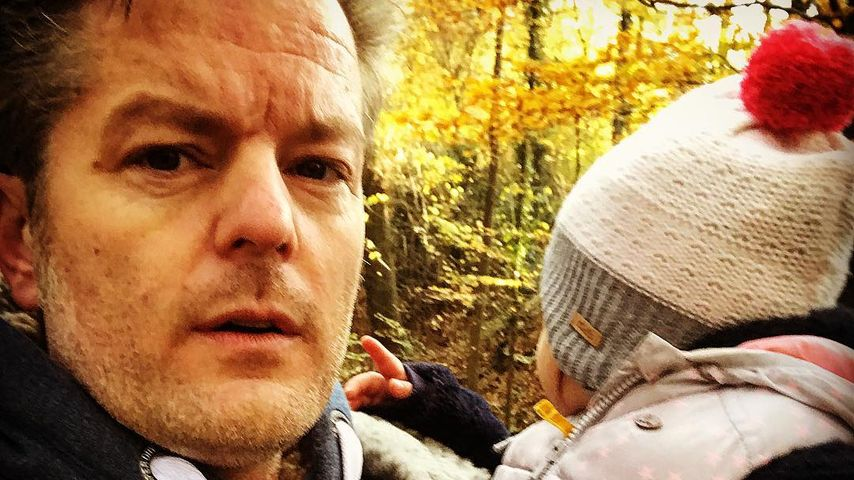 Müder AWZ-Star André Dietz: Quality-Time mit seiner Tochter