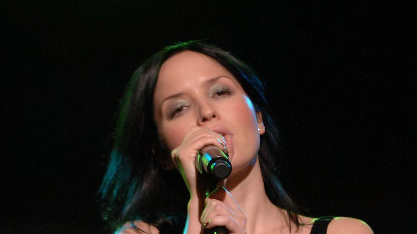 Andrea Corr bei einem Auftritt in Spanien
