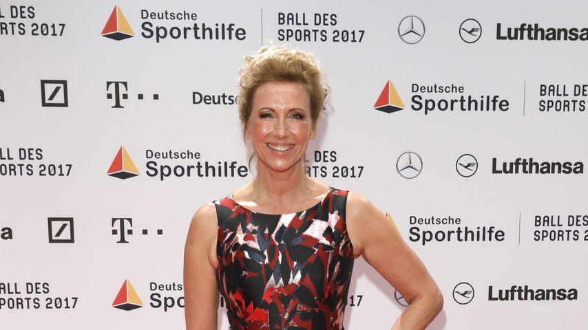 Moderatorin Andrea Kiewel beim Ball des Sports 2017