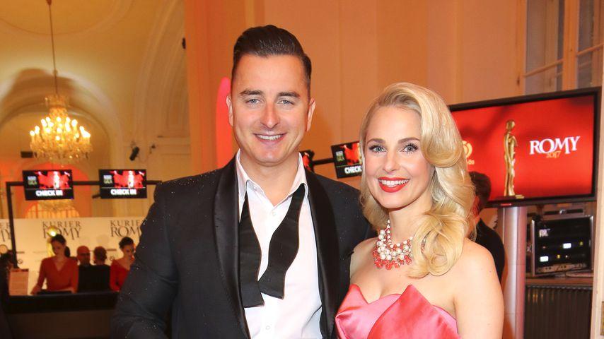 Andreas Gabalier und Silvia Schneider bei der 28. Romy Gala 2017 in der Hofburg Wien